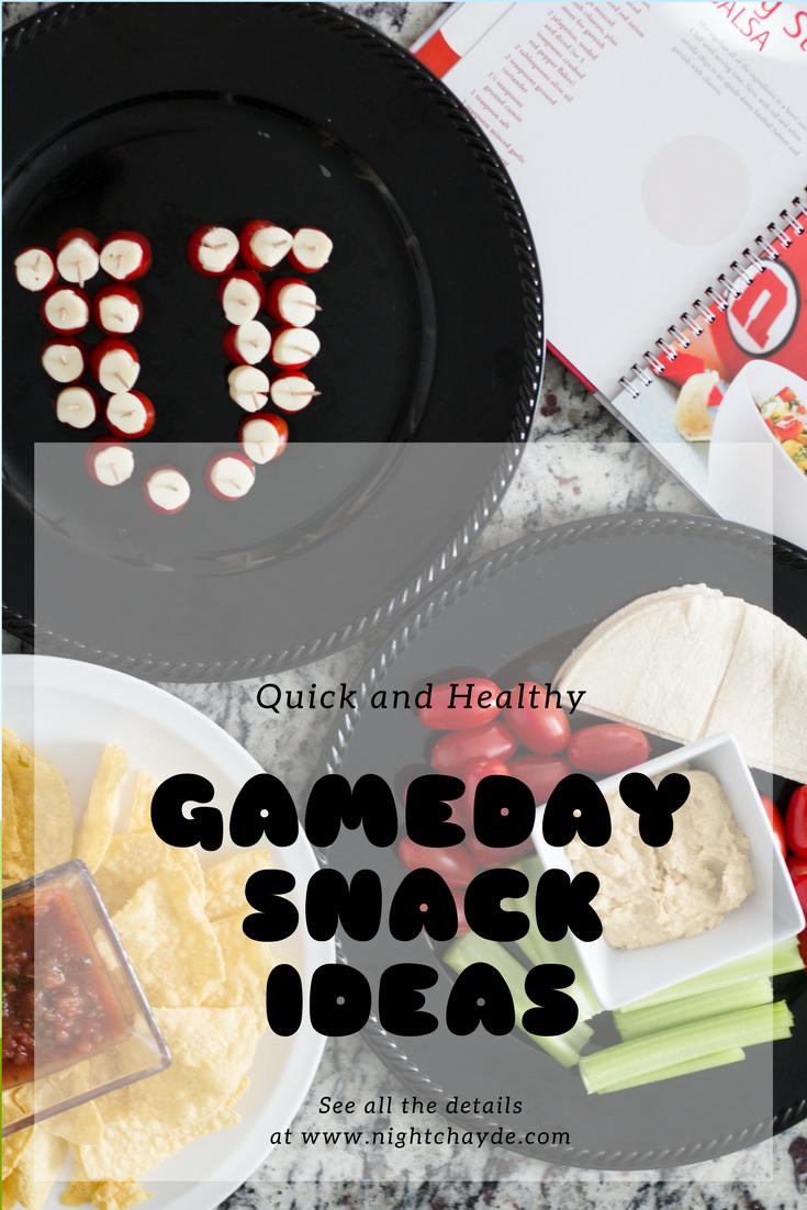 Gameday Snack Ideas