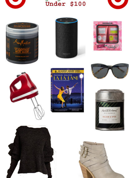 Gift Guide for the Family: Under $100 all from Target