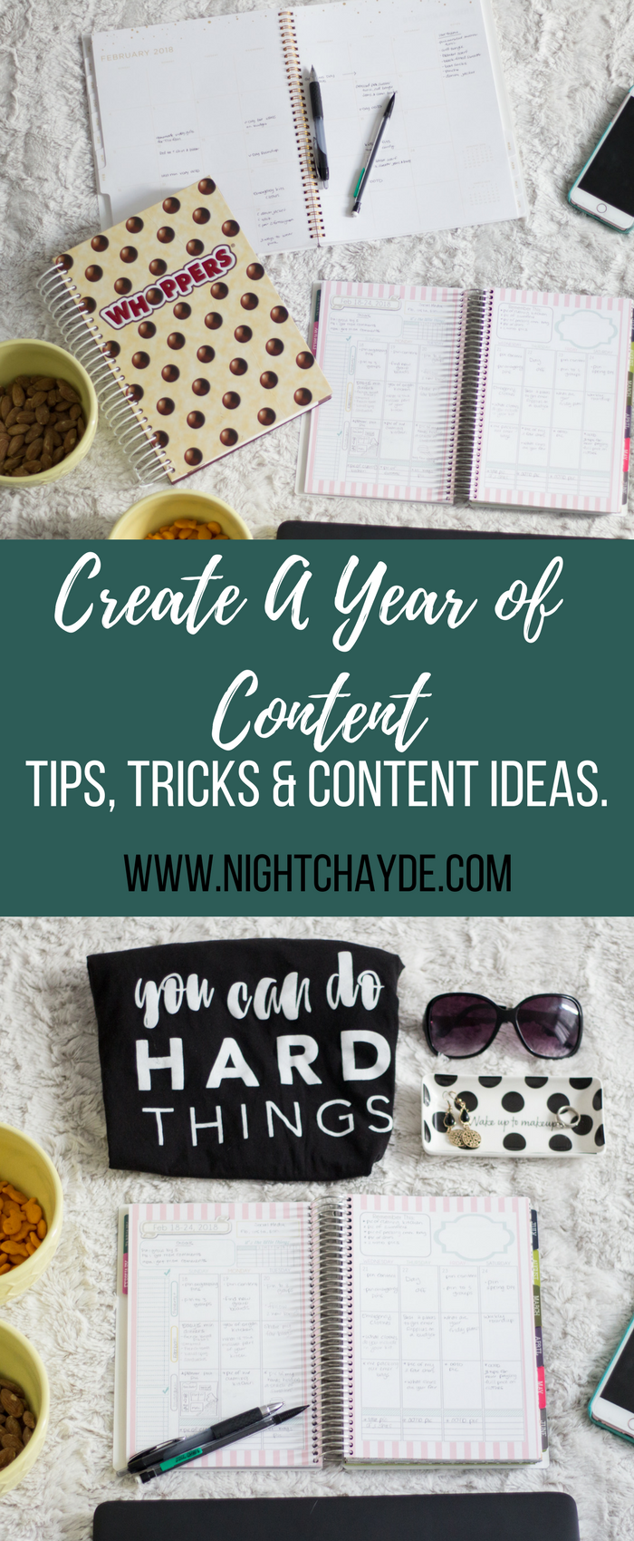 Create A Year of Content