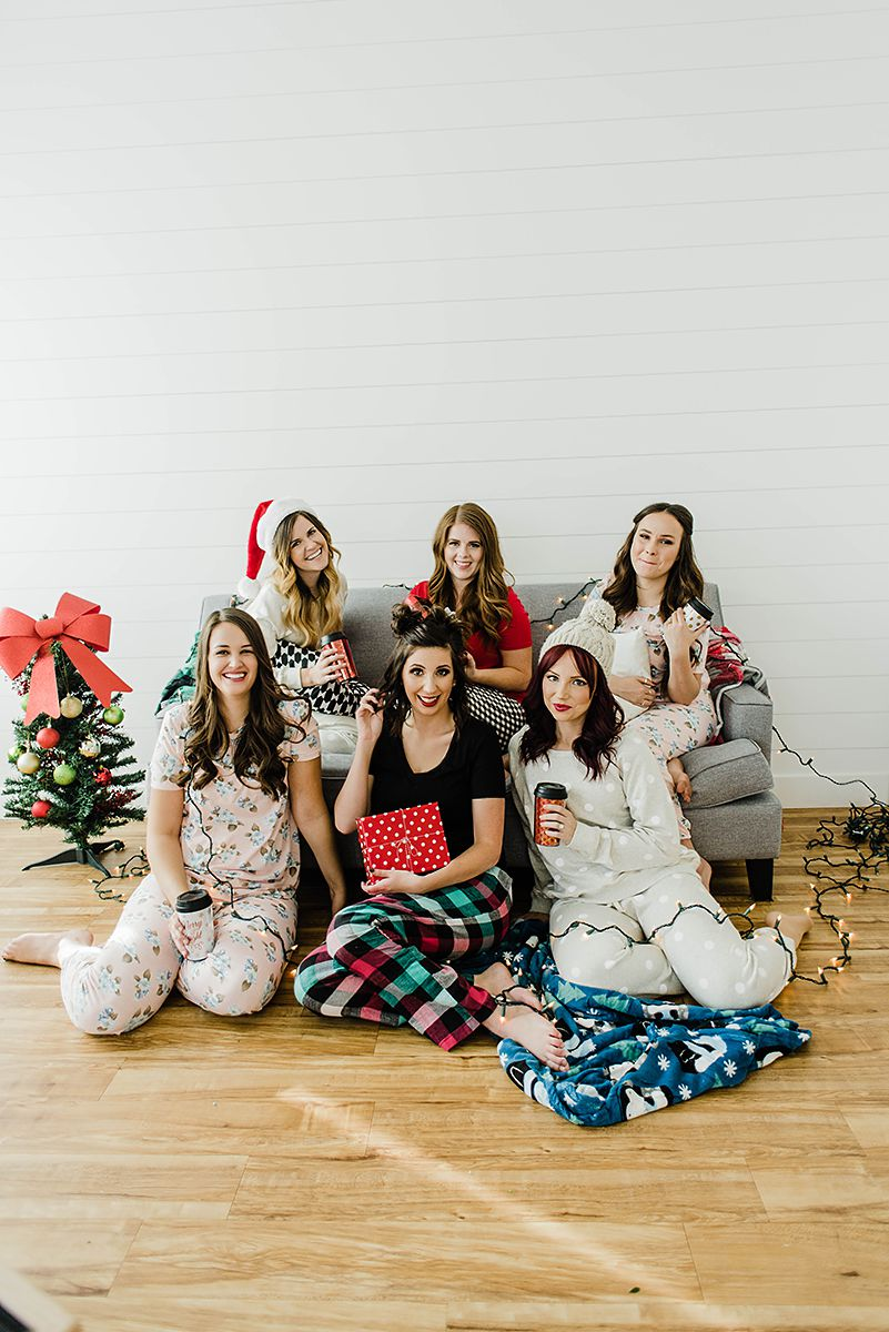 Holiday Outfits: 6 Christmas Pajamas that work year round graphic