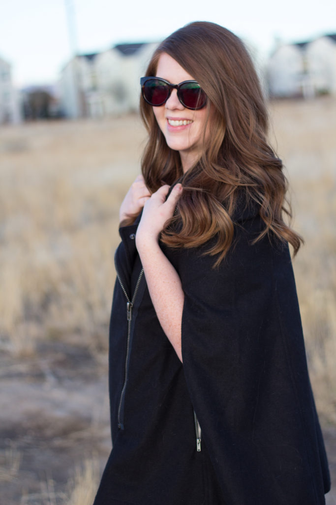 Styling Your Poncho Coat