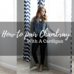 How to pair chambray