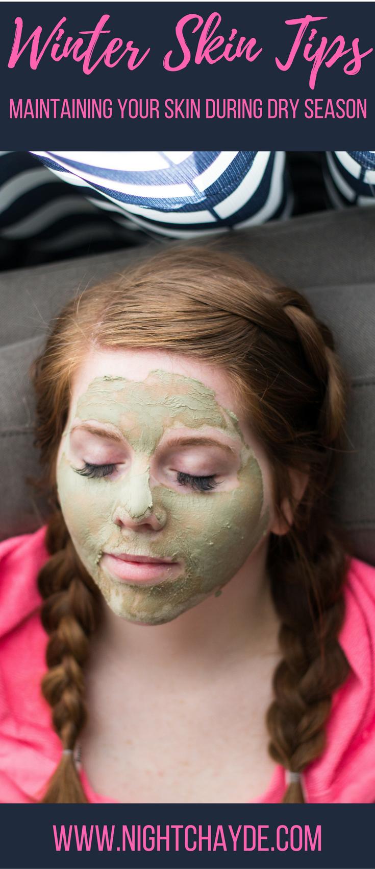 Winter Masks for dry skin