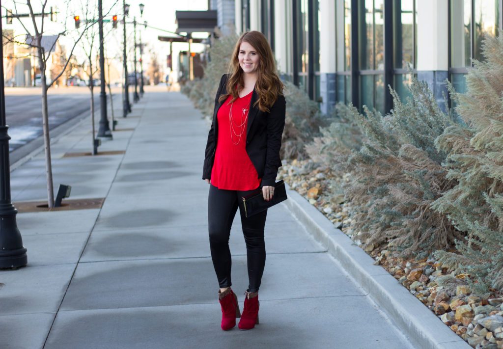 Valentine's Day Outfit: A casual date night look