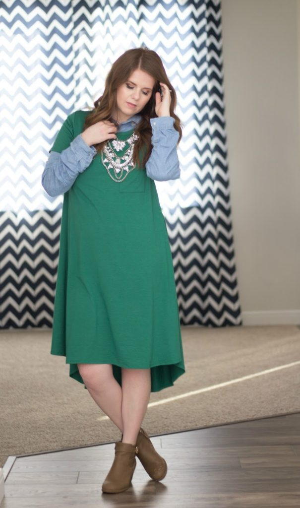 Green Outfit Ideas: Outfits that are pinch proof.