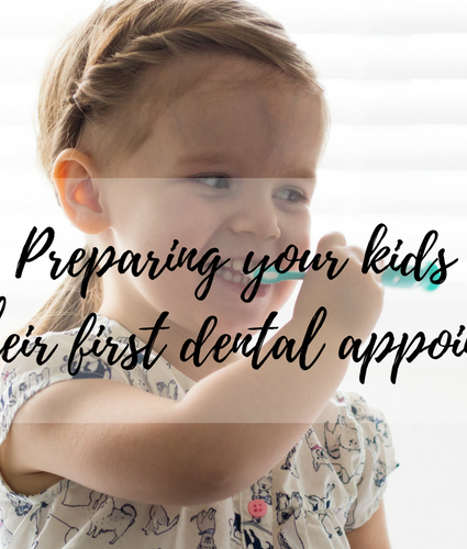 Your Kids First Dental Appointment: How to prepare and have a happy checkup