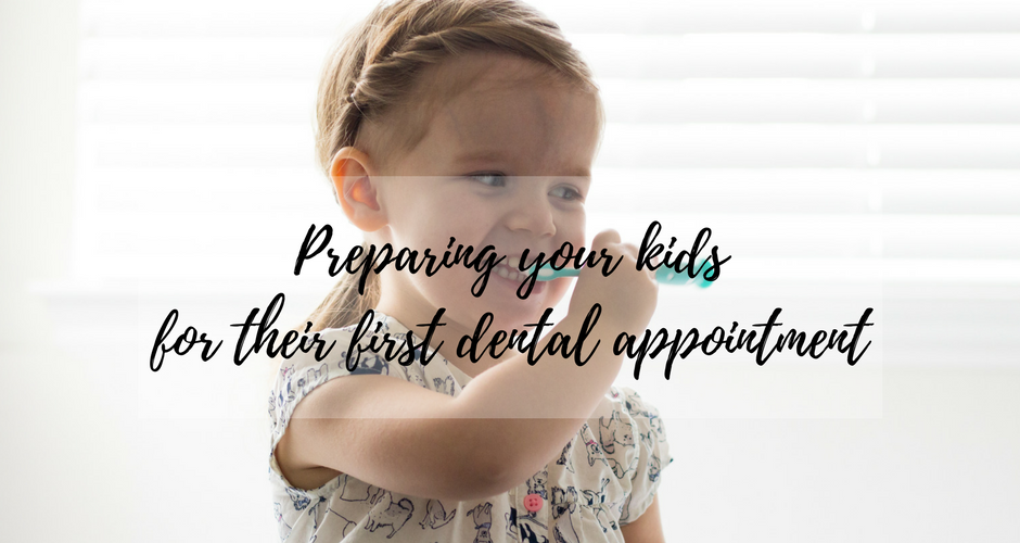 Your Kids First Dental Appointment: How to prepare and have a happy checkup graphic