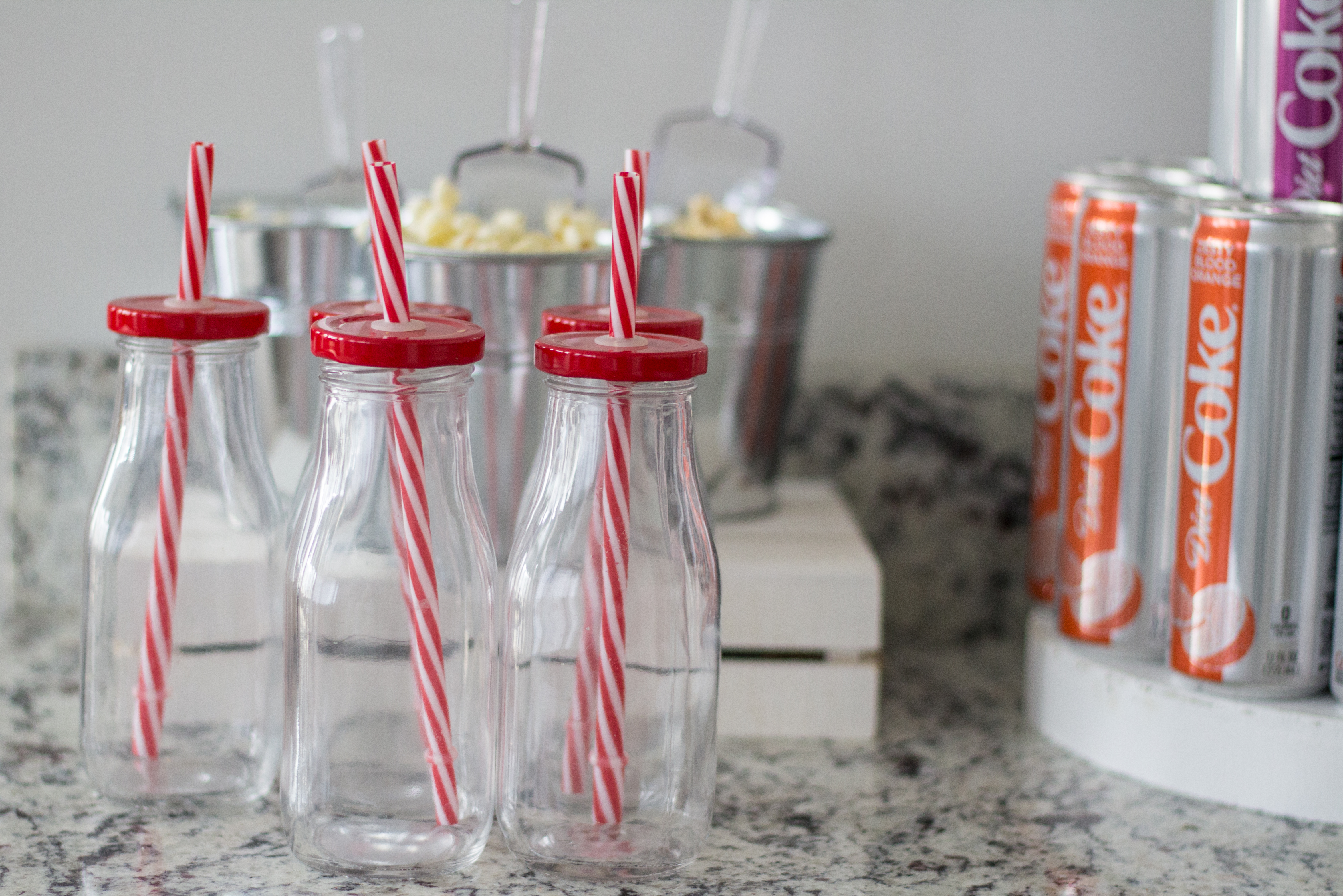 Diet Coke and Popcorn Bar