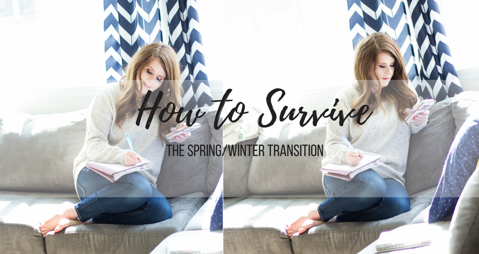 Comfortable Winter Outfit: 5 Things I like to do during the Spring/Winter transition. graphic