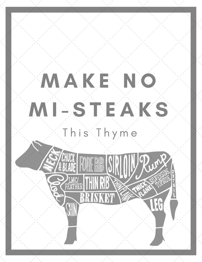 Make No Mi-Steaks