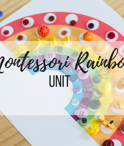 Montessori: Rainbow Unit