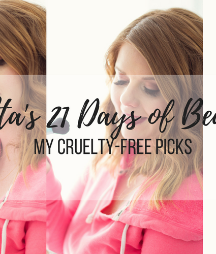 Ulta's 21 Days of Beauty Sale+My Cruelty Free Favorites