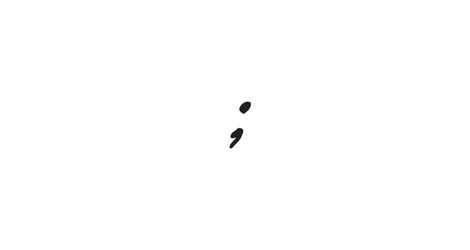 Project Semi Colon graphic