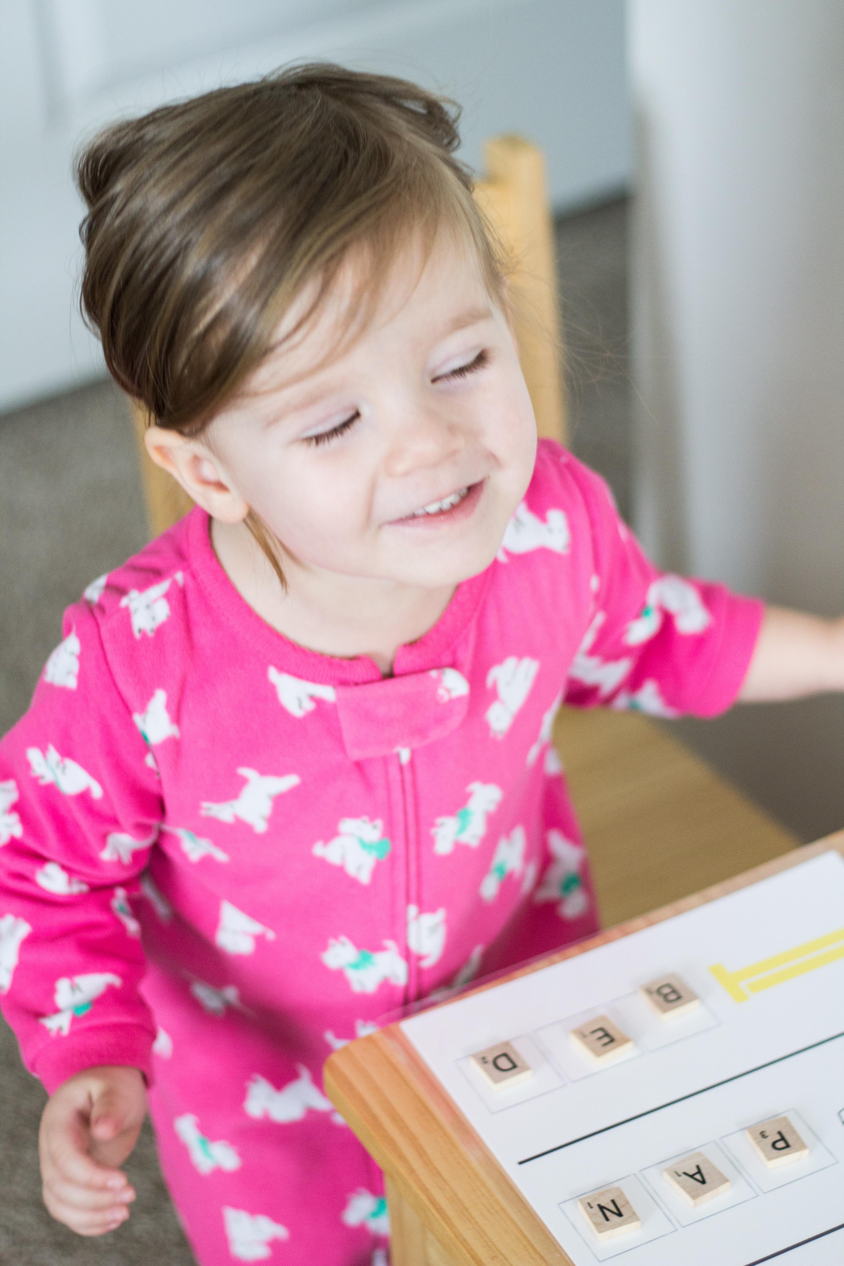 montessori-intro to reading