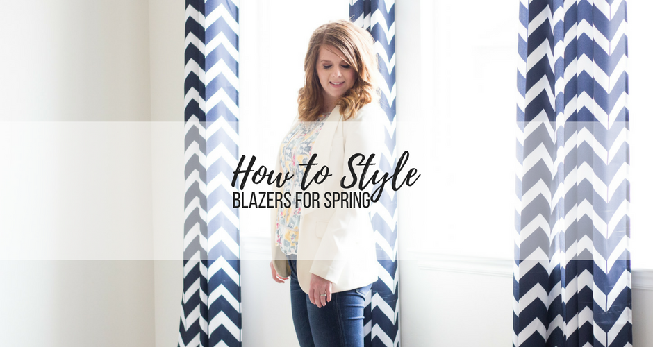 How to Style a Blazer for Spring graphic