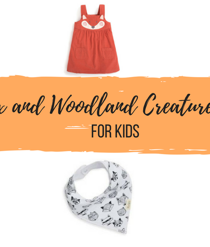 Cute Fox and Woodland Creature Clothing for Kids