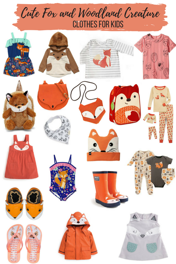 Fox Clothes for Kids