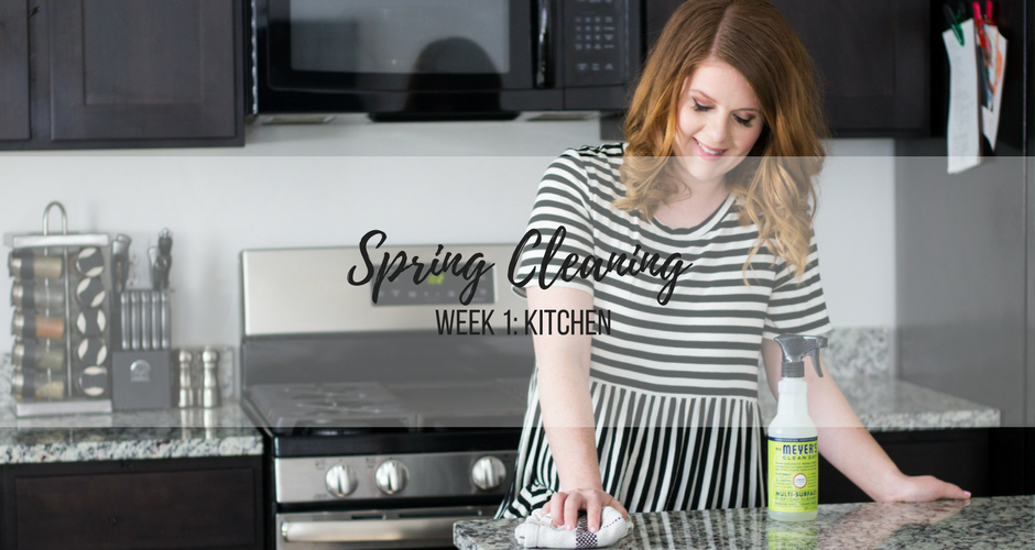 Spring Cleaning Week 1: Kitchen graphic