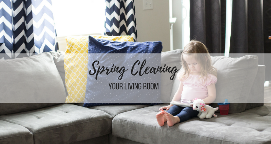 Spring Cleaning: Week 3 | The Living Room graphic