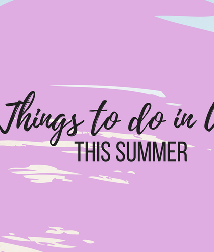 Fun things to do during Spring-Summer in Utah