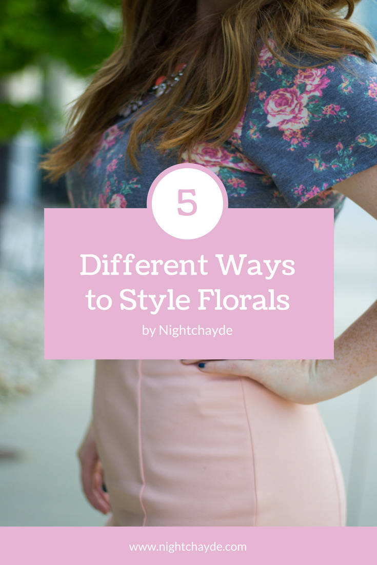 5 ways to style floral pieces