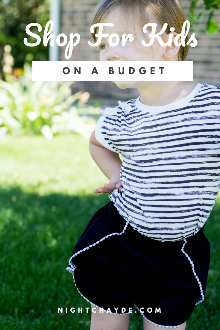 Shop For Kids on a Budget