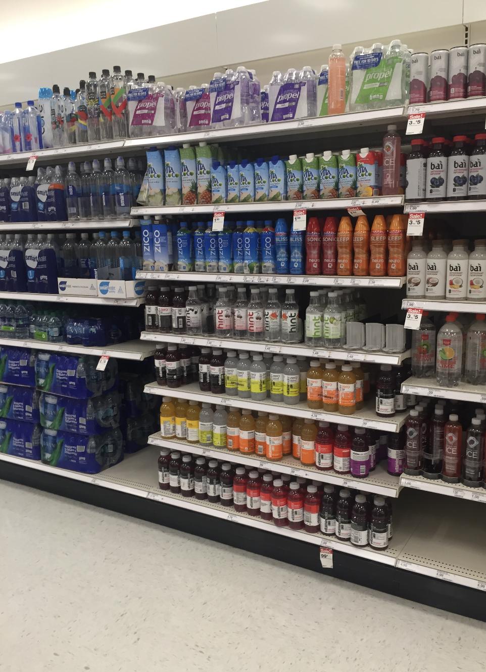 vitaminwater at target