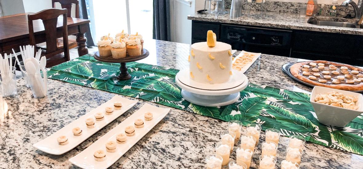 Aria's Banana Birthday Party