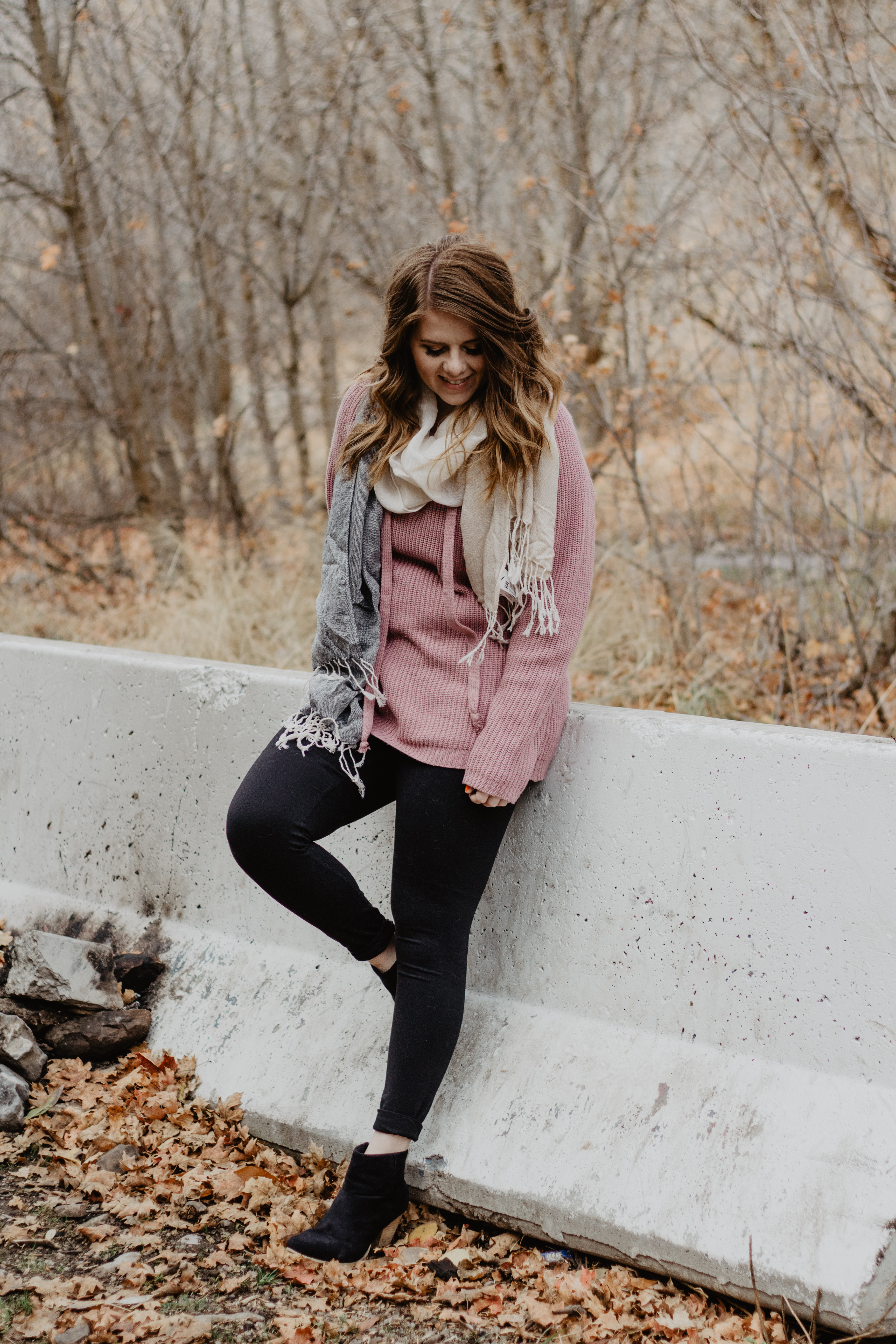 Bright Fall Sweater