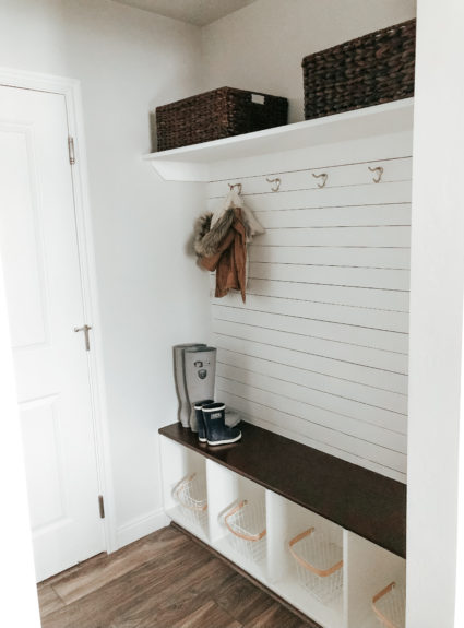 Our Mudroom Renovation: How we did it for under $100