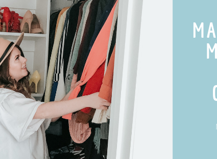 New Years Resolution #3: Making the most of my Closet (Making smarter Purchases)