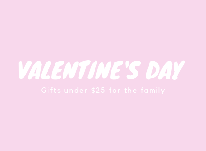 Valentines Day Gifts under $25