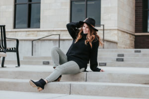 Starting the Winter to Spring Transition: How to dress from Winter to Spring