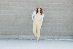 Yellow Jumpsuit with Mckierae