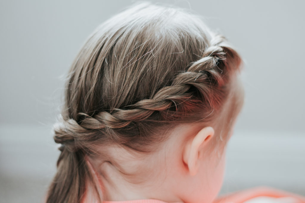 French Twist Side Braid