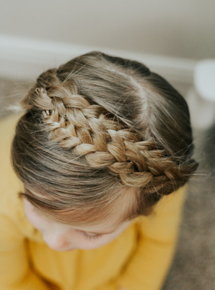 Little girl Milkbraid Hairstyle