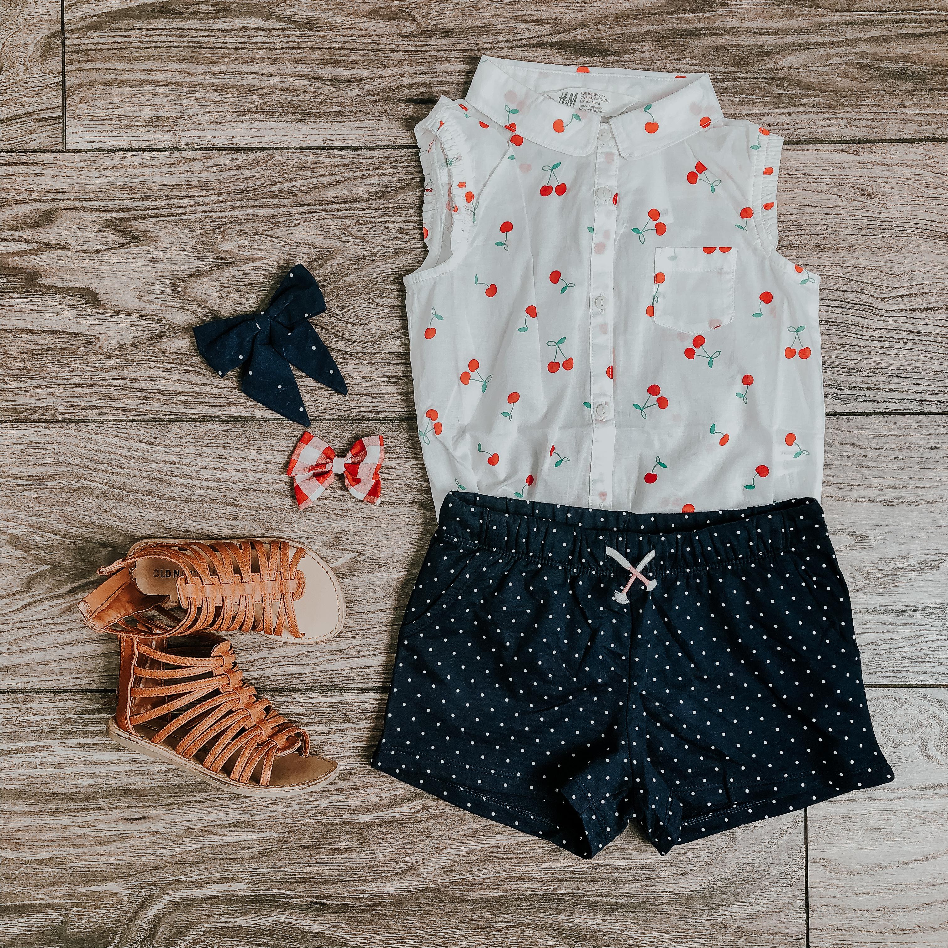 little girls summer style