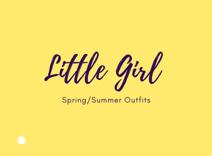H&M Kids Order: Little Girl Outfits in Flats Lay
