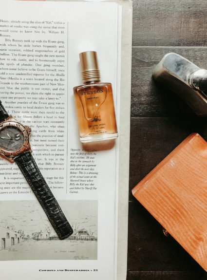 Father's Day Gift Idea with Stetson Cologne
