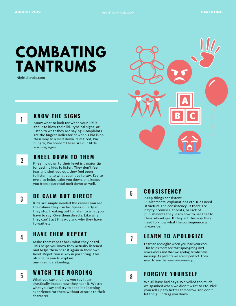 Combating Tantrum print