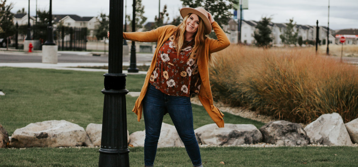 Fall Rust with My Sister's Closet Boutique
