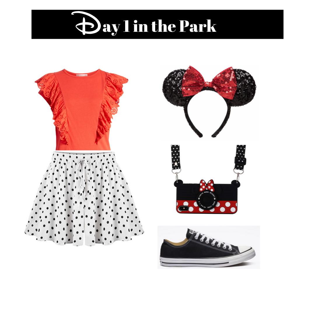 womens day 1 in Disneyland