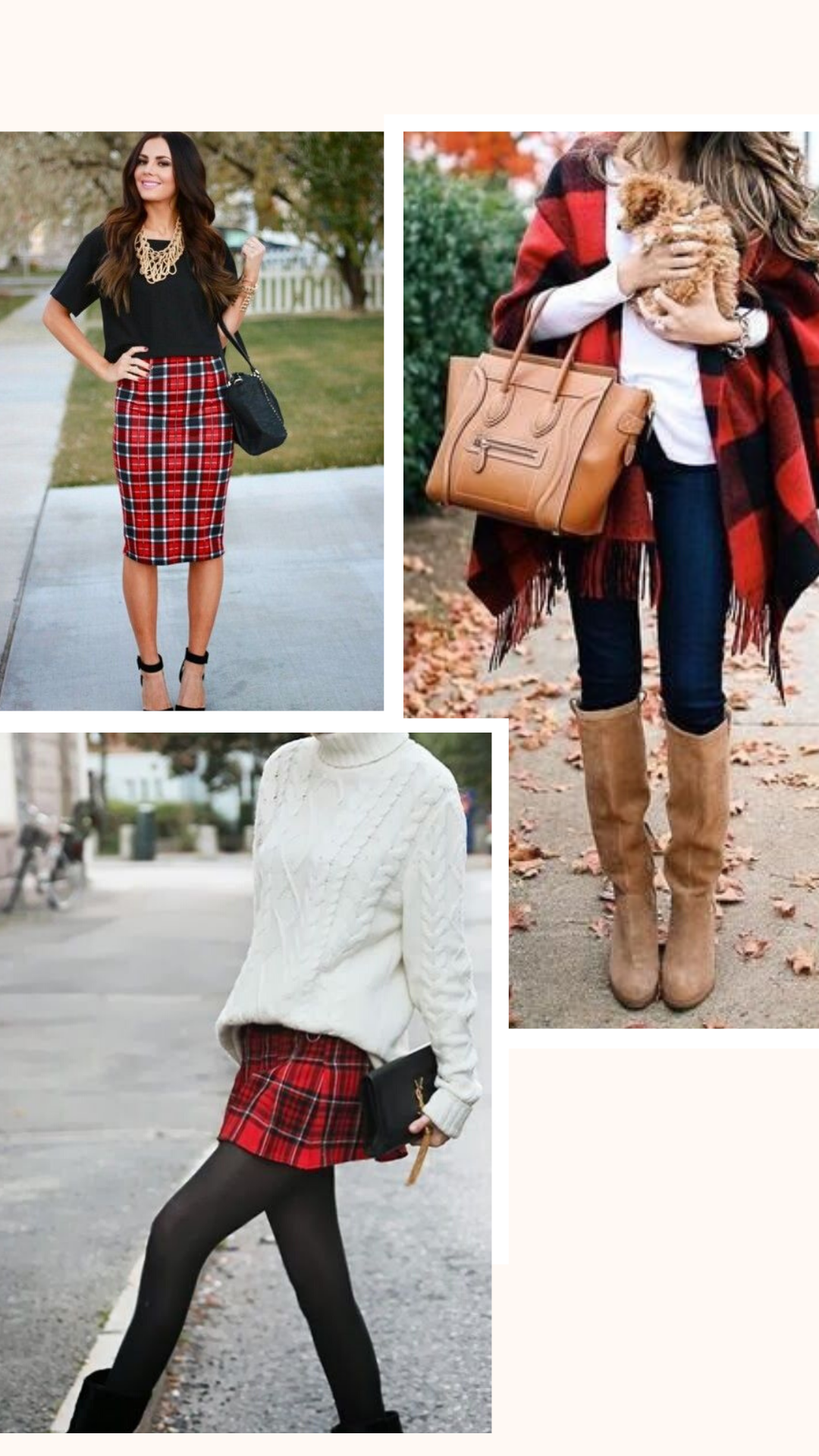 styling plaid