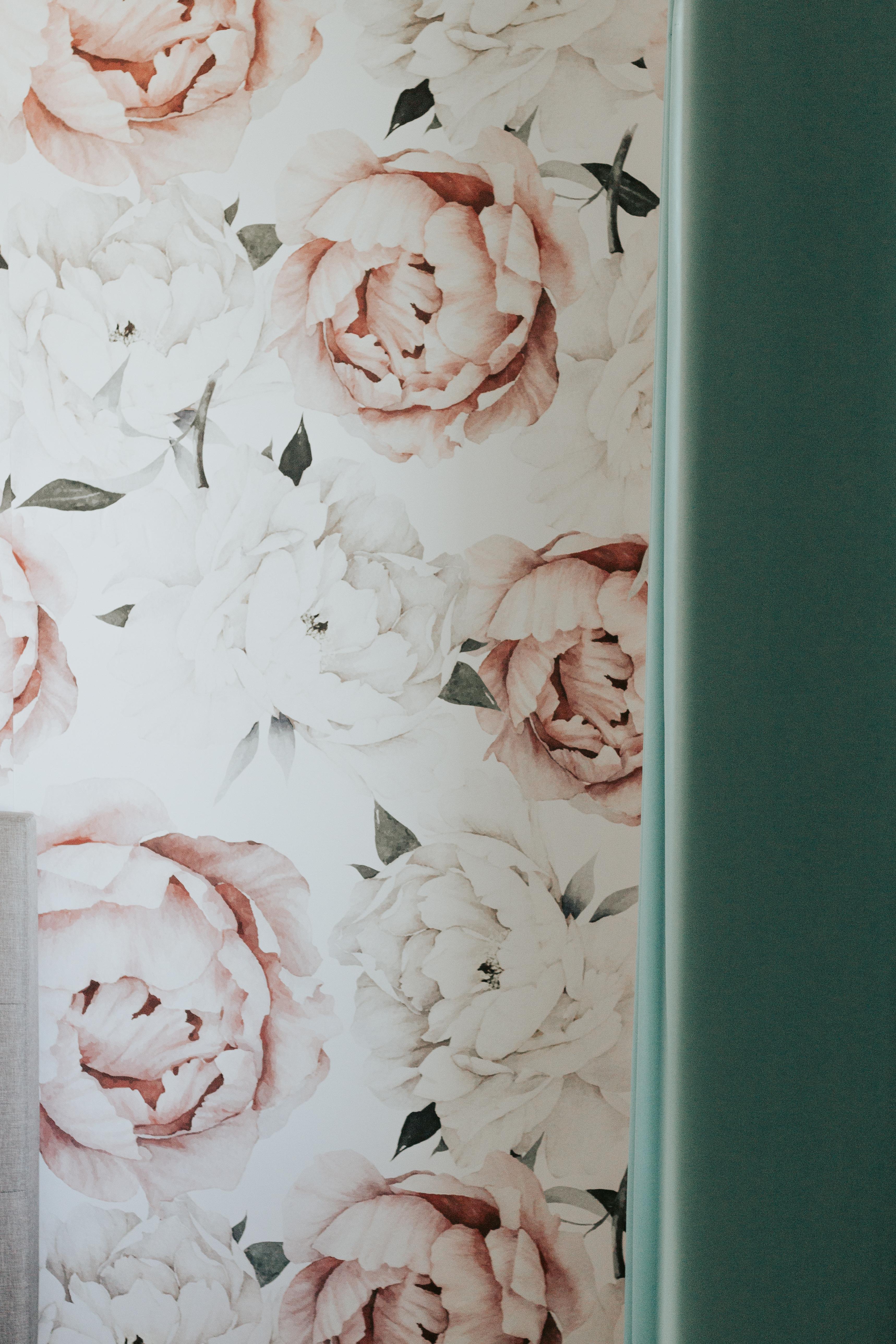 little girls floral room