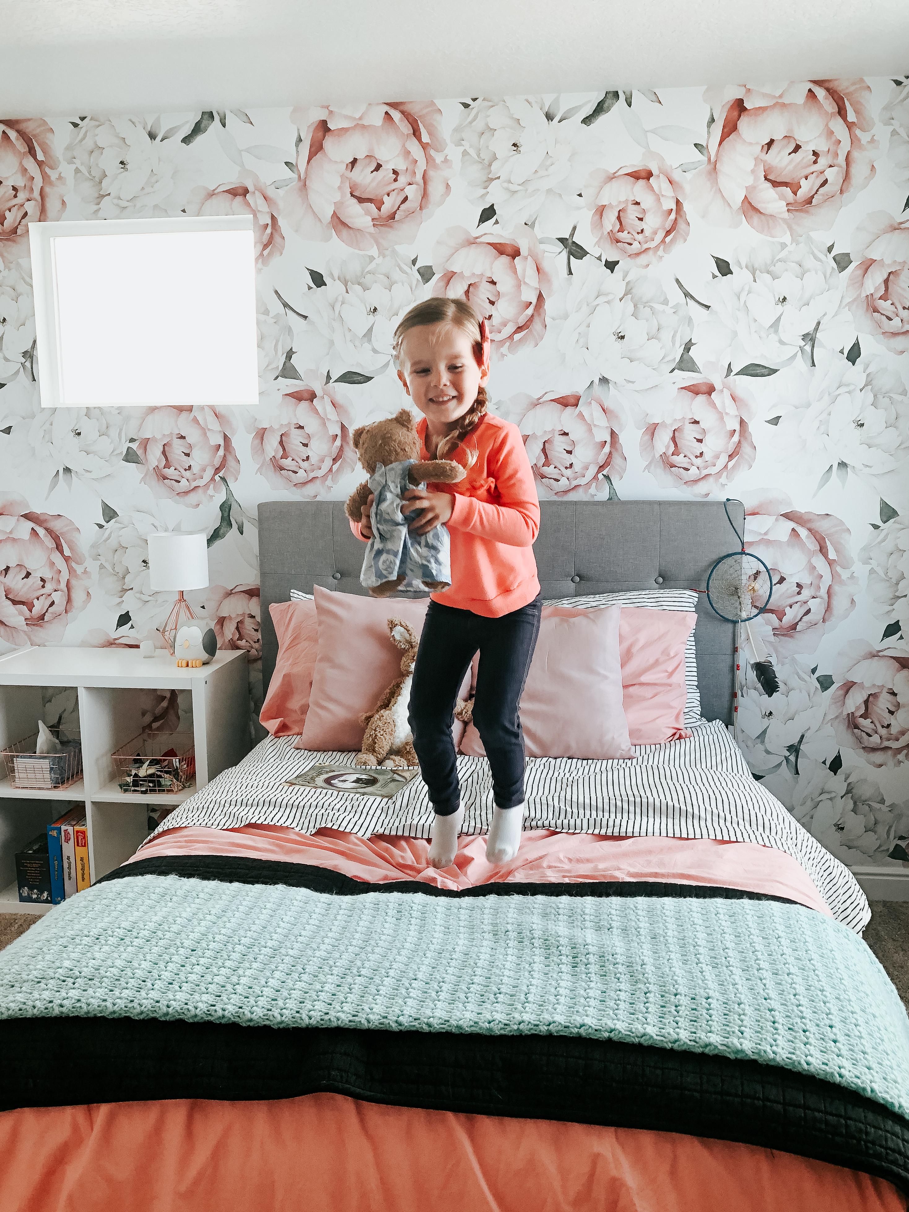 Little girl floral room