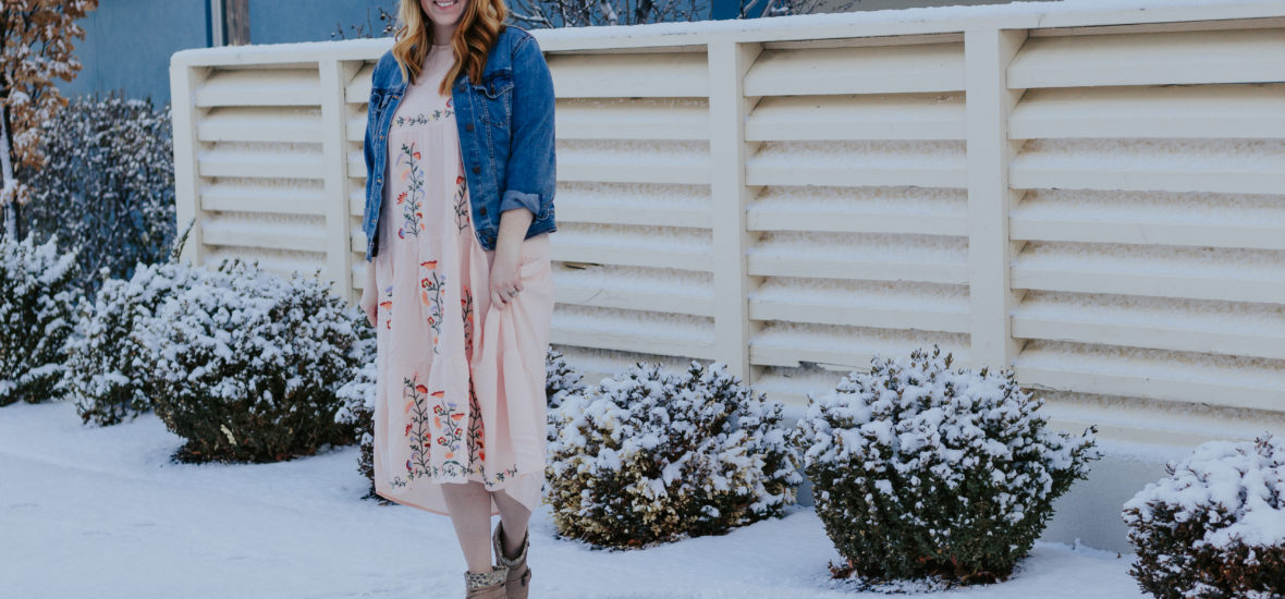 Spring Dresses: Maternity and Non Maternity