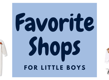 Shops I have been loving for baby clothes